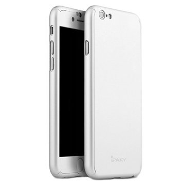 iPaky 360 Protection iPhone 6 Plus Cover - Sølv