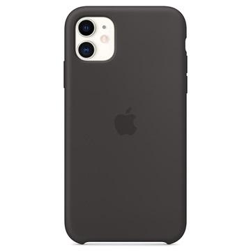 iPhone 11 Apple Silikone Cover MWVU2ZM/A - Sort