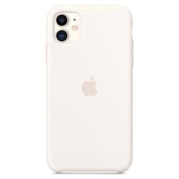 iPhone 11 Apple Silikone Cover MWVX2ZM/A - Hvid