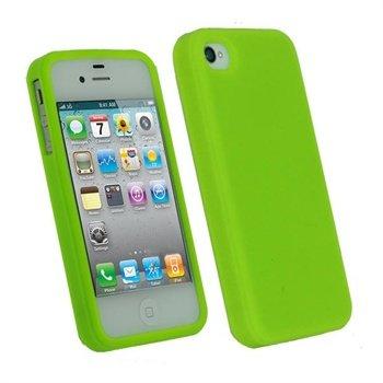 iPhone 4 / 4S iGadgitz Silikone Cover - Grøn