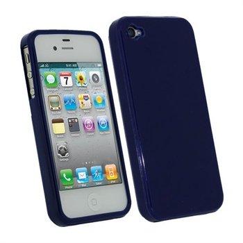 iPhone 4S iGadgitz TPU Taske - Blå