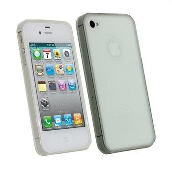 iPhone 4S iGadgitz TPU Taske - Klar