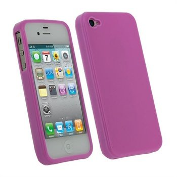 iPhone 4S iGadgitz TPU Taske - Pink