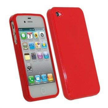 iPhone 4S iGadgitz TPU Taske - Rød