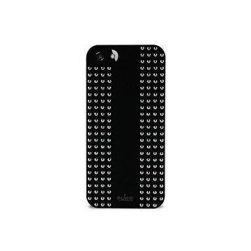 iPhone 5 / 5S / SE Puro Rock Round Studs Cover - Sort