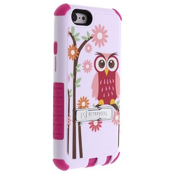 iPhone 6 / 6S Beyond Cell Tri Shield Hybrid Design Cover - Daisy Owl