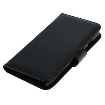 iPhone 6 Plus / 6S Plus Bookstyle Flip Læder Taske - Sort