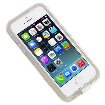 iPhone 6 UreParts Hårdt Cover & USB Opladerkabel - Gennemsigtig Hvid