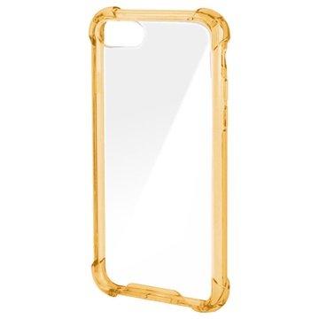 4smarts Ibiza Clip iPhone 7 Cover - Guld / Gennemsigtig