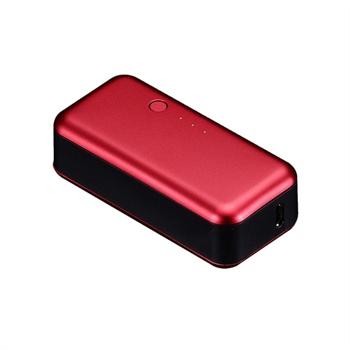 iPhone, iPod Just Mobile Gum Batteri - Rød Just Mobile til  - MediaNyt