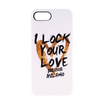 iPhone 5 / 5S / SE Puro Just Cavalli TPU Cover - Hvid