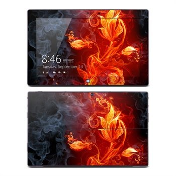 Microsoft Surface Pro, Pro 2 Flower Of Fire Skin
