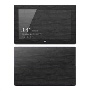 Microsoft Surface RT Black Woodgrain Skin
