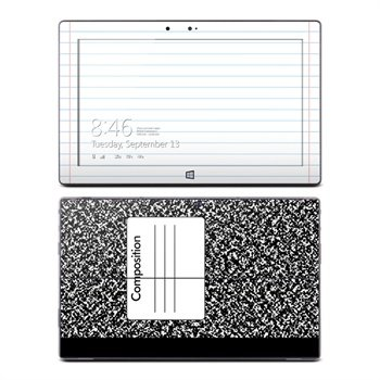 Microsoft Surface RT Composition Notebook Skin