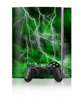 Sony PlayStation 3 Skin - Apocalypse Grøn
