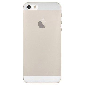 iPhone 5/5S/SE Puro 0.3 Ultra Slim Nude Silikone Cover - Gennemsigtig