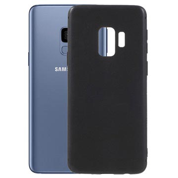 Samsung Galaxy S9 Silikone Cover - Fleksibelt og Mat - Sort