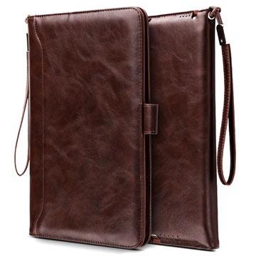 iPad Mini 3, iPad Mini 4 Smart Flip Cover med Håndrem - Kaffe