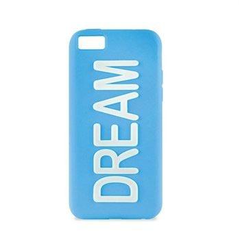 iPhone 5C Puro Dream Silikone Cover - Blå