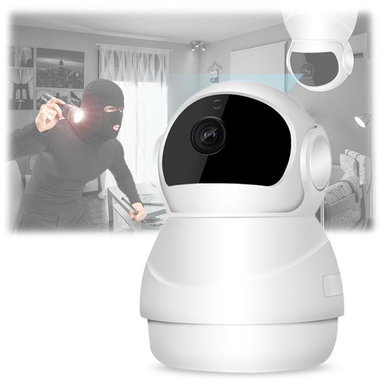 360 roterende Full HD Security Home kamera