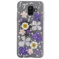 4smarts Flash Samsung Galaxy A6 (2018) Hybrid Cover - Blomster