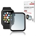 4smarts Second Glass Apple Watch Series 5/4 Panserglas - 44mm - Sort