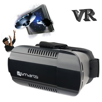 4smarts Spectator Plus Universale Virtual Reality Briller - Sort