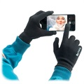 4smarts Vinter Touch Handsker - S/M - Sort