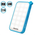 Adata D8000L 8000mAh Dobbelt USB Power Bank med LED Lys