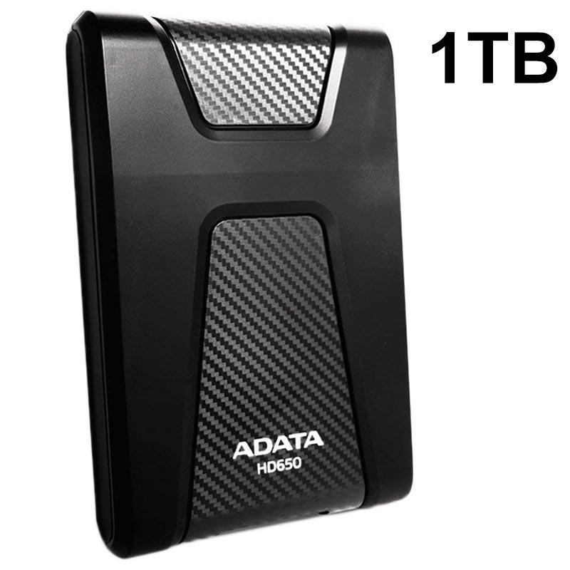 Vellidte Adata HD650 USB 3.1 Ekstern Harddisk - 1TB CX-15