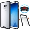 Samsung Galaxy A8 (2018) Anti-Shock Hybrid Crystal Cover