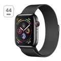 Apple Watch Series 4 LTE MTX32FD/A - Rustfrit Stål, Milanorem, 44mm, 16GB - Space Sort