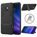 Armor Series Huawei Mate 20 Pro Hybrid Cover med Stand - Sort