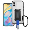 Armor-X BX3-IPH-12S iPhone 12 mini Cover - Gennemsigtig / Sort