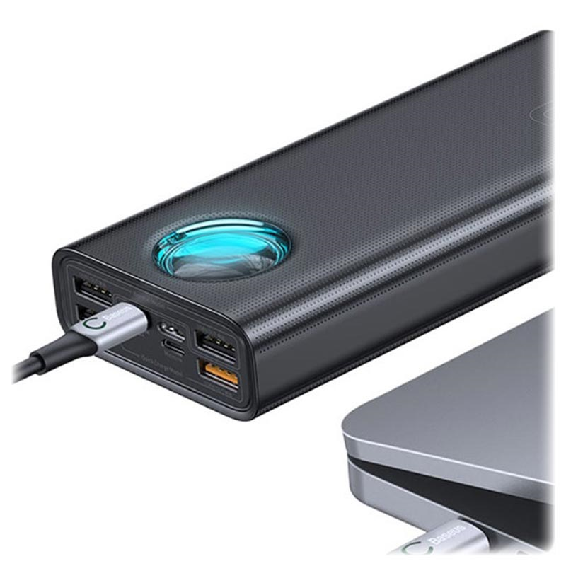 Baseus Amblight 4xUSB & USB-C Powerbank - 30000mAh