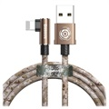 Baseus Camouflage Mobile Game Lightning Kabel - 1m - Brun