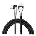 Baseus MVP Mobile Game USB 3.1 Type-C Kabel - 2m - Sort