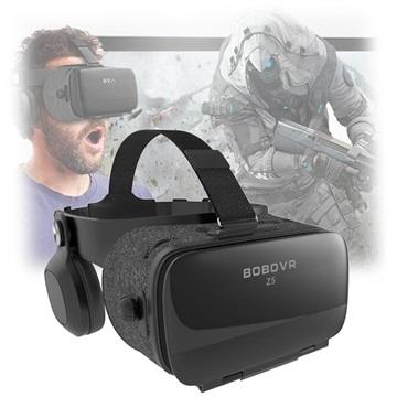 4e1eaac4d4b0 BoboVR Z5 IMAX 3D Virtual Reality Briller med Hovedtelefoner - 4.7