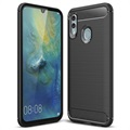 Brushed TPU Huawei Honor 10 Lite, P Smart (2019) Cover - Sort
