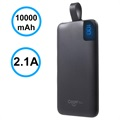 Cager S10000 Transportabel Type-C Power Bank - 10000mAh