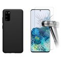 Samsung Galaxy S20 Cover med 2x Panserglas