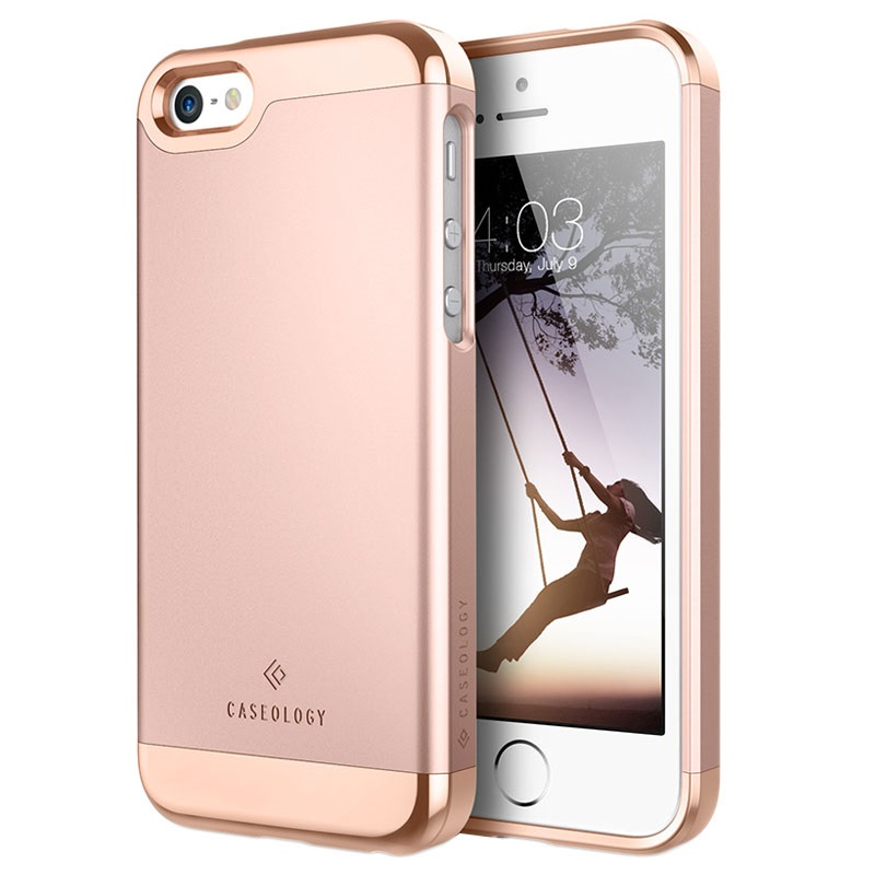 iphone 5 5s se caseology savoy cover rosa gold. Black Bedroom Furniture Sets. Home Design Ideas