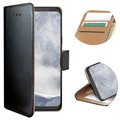 Celly Wally Samsung Galaxy S9 Etui med Pung - Sort