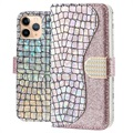 Croco Bling iPhone 11 Pro Etui med Pung