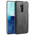 Krokodille Series OnePlus 7T Pro Cover - Sort