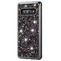 Diamond Series Samsung Galaxy S10 Hybrid Cover