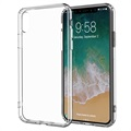 iPhone X / iPhone XS Drop Resistent Crystal TPU Cover - Gennemsigtig