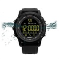 EX17 Vandtæt Bluetooth 4.0 Sport Smartwatch - Sort