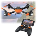 Forever Flex Sammenfoldelig FPV Drone - Sort / Orange