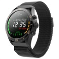 Forever Icon AW-100 AMOLED Smartwatch - Sort